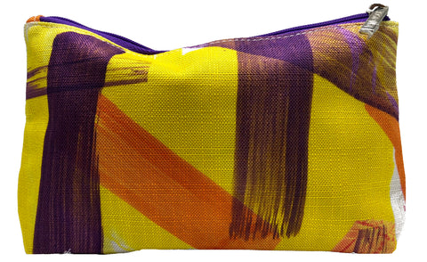 Clinique Yellow Print Cosmetic BAGS