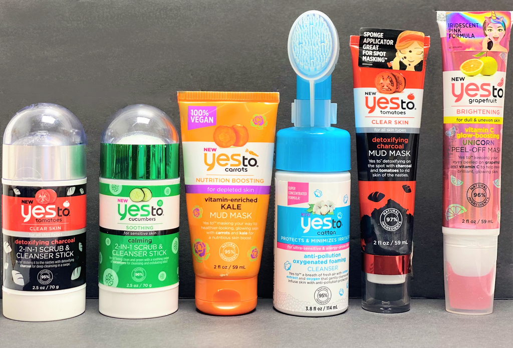 YES TO SKIN CARE  PRODUCTS MIXES