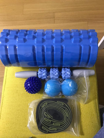 Storage Foam Roller Set