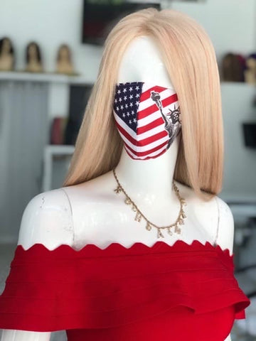 American Flag - Statue of Liberty Mask