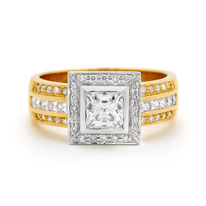 Diamond Rings Dress Rings