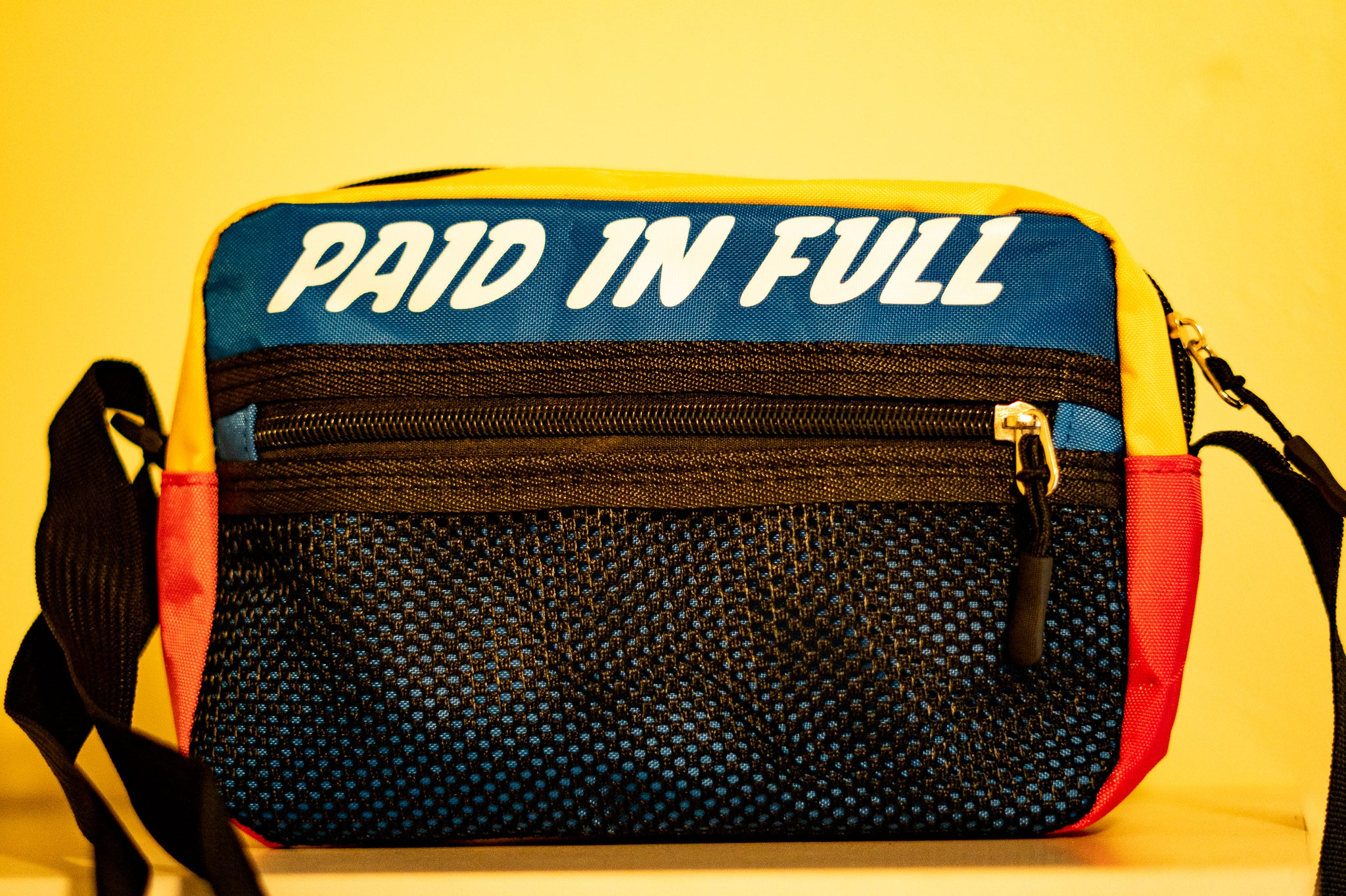 """Paid In Full"" Shoulder Bag - Grind x Grow x Prosper Clothing Co."