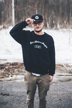 "Original ""Scripted"" Crewneck - Grind x Grow x Prosper Clothing Co."