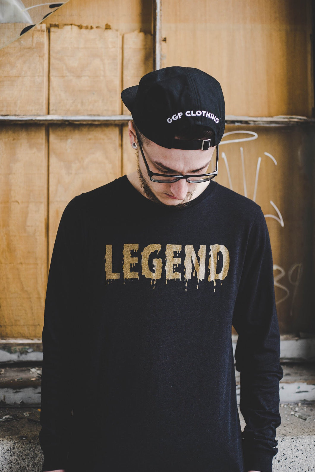 """Legend"" Drip Long Sleeve - Grind x Grow x Prosper Clothing Co."