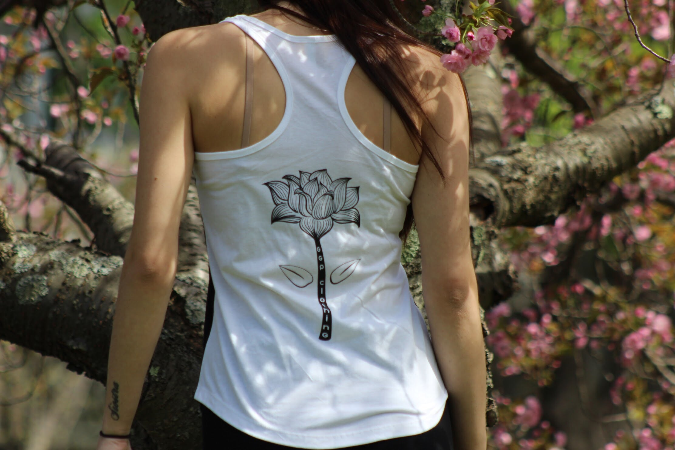 "Exclusive ""Infinite Paradise"" Woman's tanks. - Grind x Grow x Prosper Clothing Co."