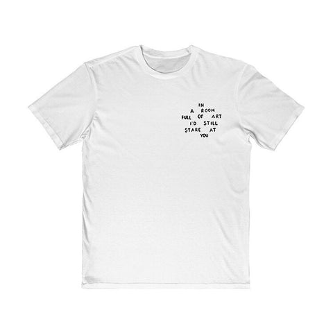 "MAFSHOP ""IN A ROOM FULL OF ART"" T-shirt"