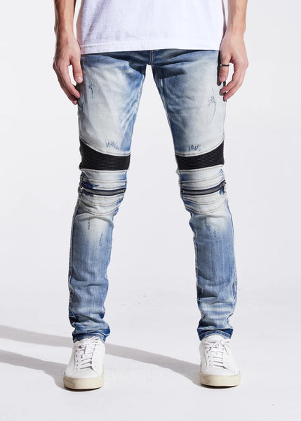 EMBELLISH DENIM - SUNNY BIKER DENIM