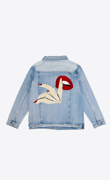 DEMEANOIR - OMERTÀ DENIM JACKET