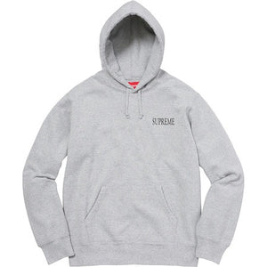 SUPREME - DECLINE OF WESTERN CIVILIZATION HOODIE - THE SPOT BOUTIQUE