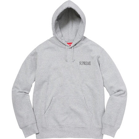 SUPREME - DECLINE OF WESTERN CIVILIZATION HOODIE