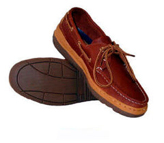 Burke Boat Shoe - Leather