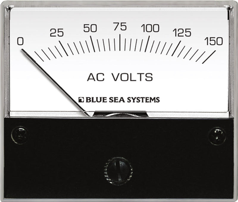 Blue Sea Systems AC Voltmeter 0 to 150V AC