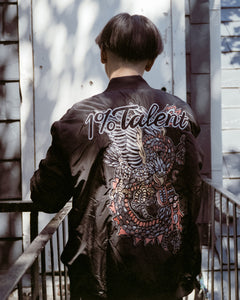 1%talent Dragon + Eagle Bomber Jacket