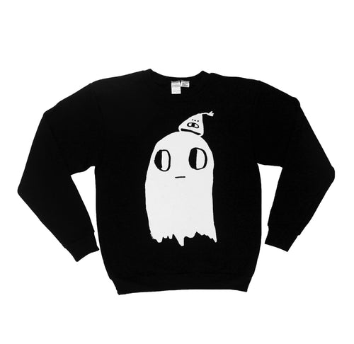 Ghost Crew neck Sweatshirt
