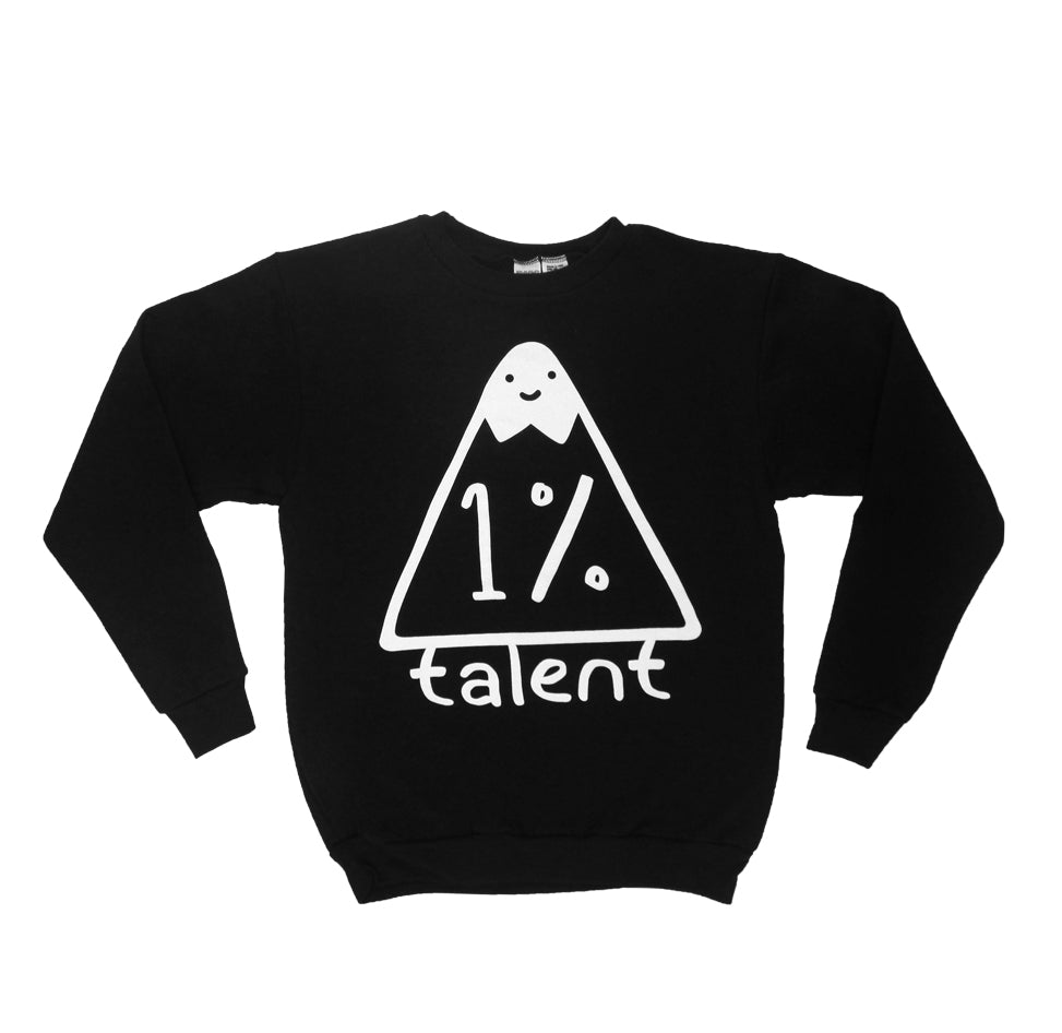1%talent Logo Crew Neck Sweatshirt