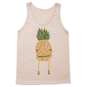 Pineapple Guy Tank Top