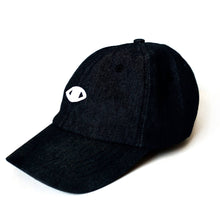 Eye dad hat (Black Denim)