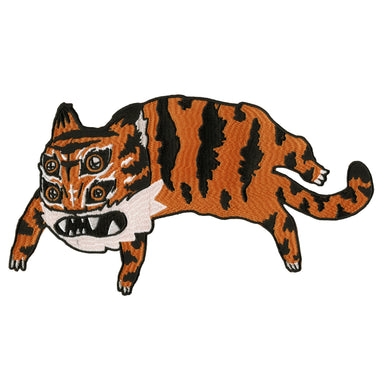 Large tiger back patch