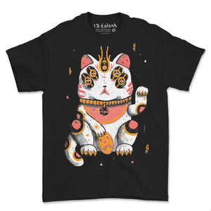 Lucky Space Cat Tee