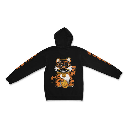 Lucky Tiger Cat Hoodie