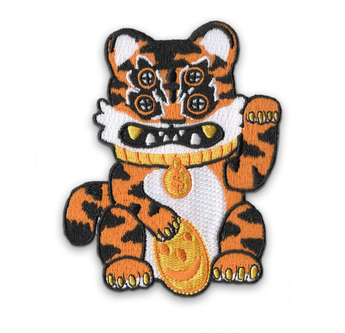 Lucky Tiger Cat Patch
