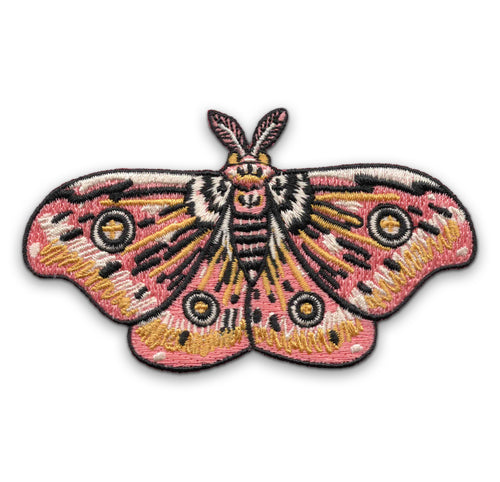 Pink Moth Patch