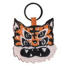 Trying Tiger Head Keyring