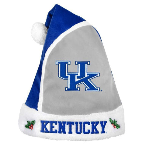 NCAA Team Logo Christmas Santa Hat