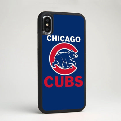 Chicago Cubs MLB Baseball Team Soft Silicone Phone Case Cover for iPhone Samsung