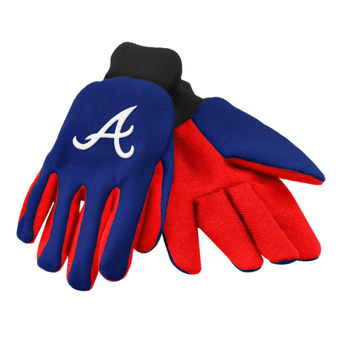 MLB Team Logo Colored Palm Utility Gloves