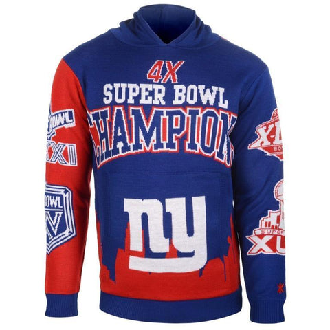 NFL Team Super Bowl Commemorative Hoodie