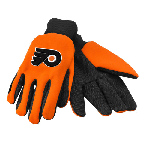 NHL Team Logo Colored Palm Utility Gloves