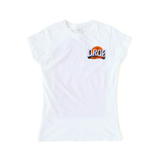 T-Shirt | Ladies Festival Lineup Tee on White