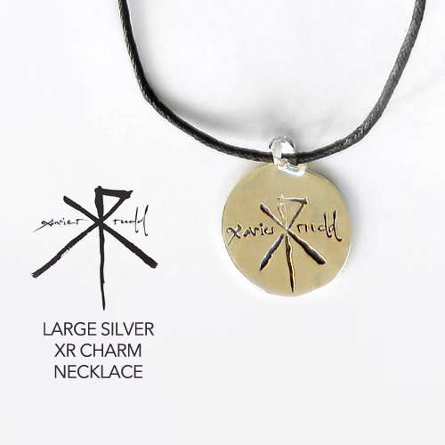 Jewellery | Large Silver XR Charm Necklace