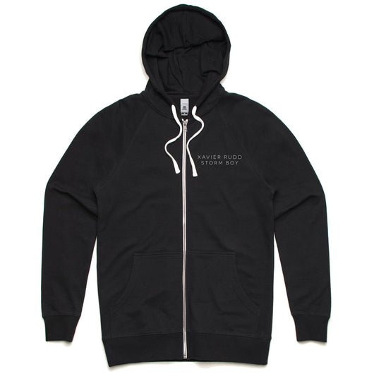 Hoodie | 'Storm Boy' on Black Zip