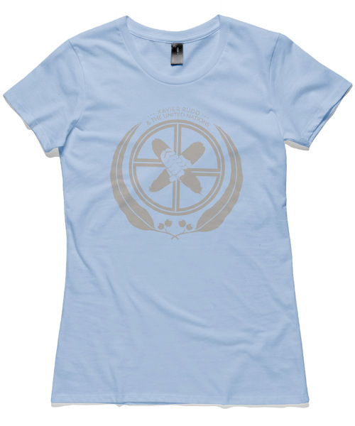 T-Shirt | UN Logo on Blue