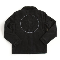 Jacket | 'Storm Boy' on Black Denim - Xavier Rudd - The Racket Club
