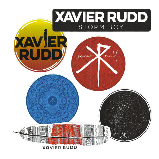 Accessories | Xavier Rudd Sticker Pack - Xavier Rudd - The Racket Club
