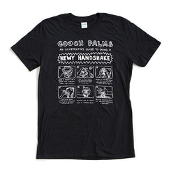 T-Shirt | 'Newy Handshake' on Black