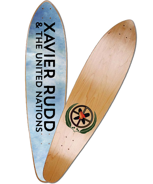 Skateboard | Xavier Rudd & the United Nations Pintail
