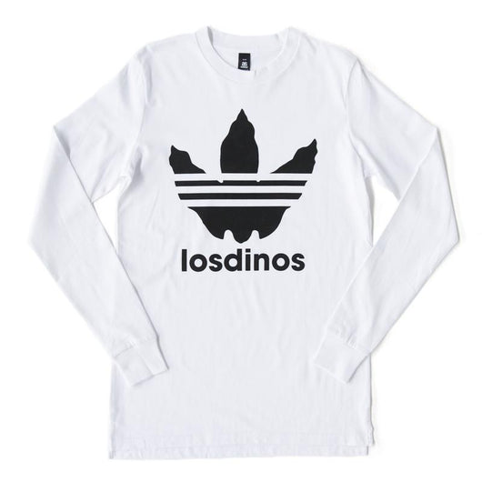 Longsleeve | 'Los Dinos' Monochrome on White