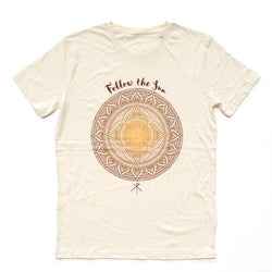 T-Shirt | 'Follow the Sun' on Cream