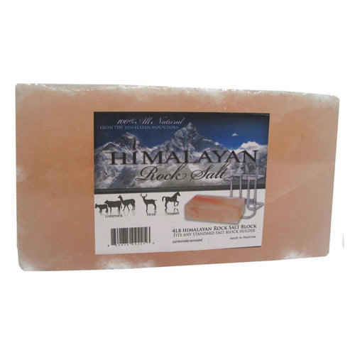 100% Himalayan Rock Salt Block