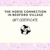 The Horse Connection Gift Certificate