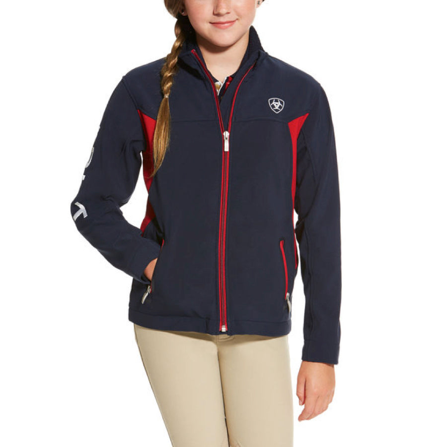 Ariat Kid's Team Softshell Jacket
