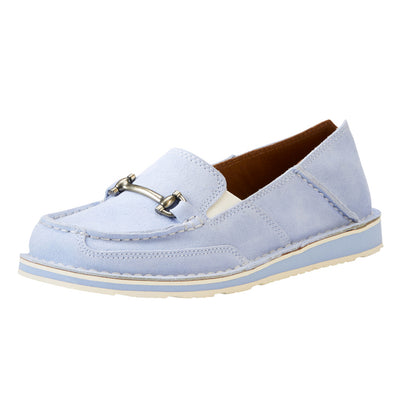 Ariat Women's Cruiser Moccasin with Bit Baby Blue