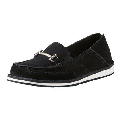 Ariat Women's Cruiser Moccasin with Bit Black