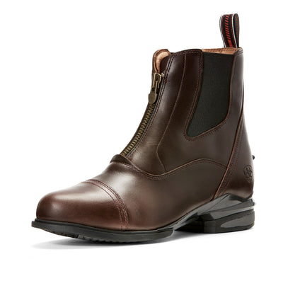 Ariat Women's Devon Nitro Paddock Boot Waxed Chocolate