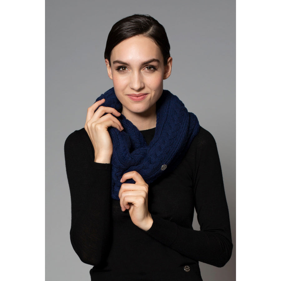 Asmar Rose Cashmere Infinity Scarf
