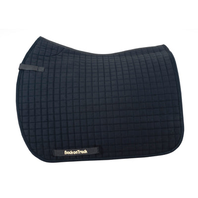 Back On Track Dressage Square Pad Black